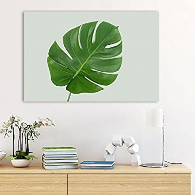 Watercolor Style Tropical Leaf