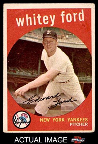 1959 Topps # 430 Whitey Ford New York Yankees (Baseball Card) Dean's Cards 2 - GOOD Yankees (Ford Whitey Baseball)