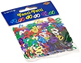 Fanci-Fetti 40 Silhouettes (multi-color) Party Accessory (3-Pack)