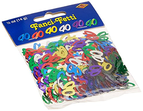 Fanci-Fetti 40 Silhouettes (multi-color) Party Accessory (3-Pack) by Beistle