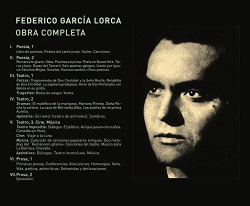 Federico García Lorca. Obra Completa.