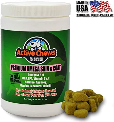 Active Chews Omega Natural Supplement product image