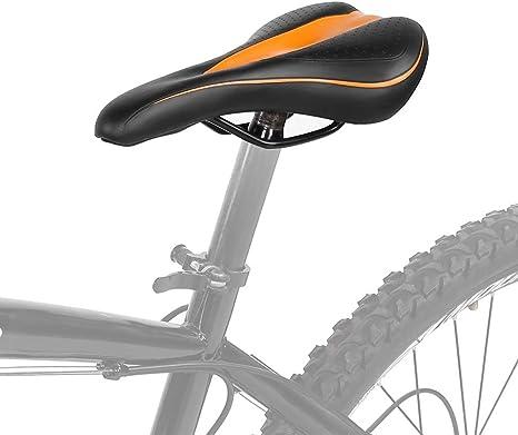 DEWIN Cómoda sillín de Bicicleta Cojín del Asiento Silla de Montar ...