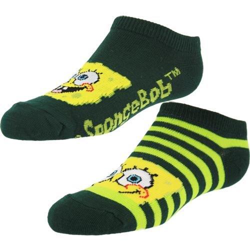 SpongeBob SquarePants Children's Sock Set, Green