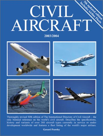 Download The International Directory of Civil Aircraft 2003/2004 pdf