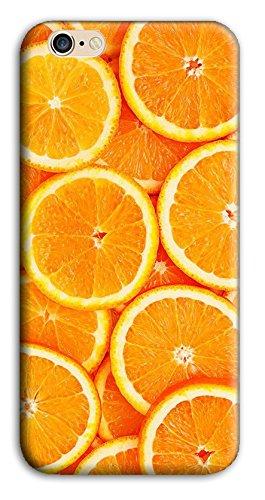 Mixroom - Cover Custodia Case In TPU Silicone Morbida Per Apple Iphone SE M3521 Fette Di Arance