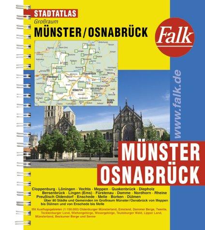 Falk Pläne, Großraum-Städteatlas Münster-Osnabrück