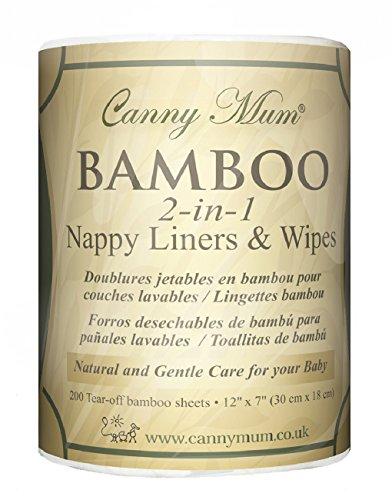 Bambus Einwegtücher und Windeleinlage