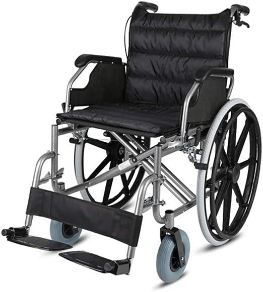 Sillas de ruedas autopropulsadas Asiento grande Ancho 56 cm ...