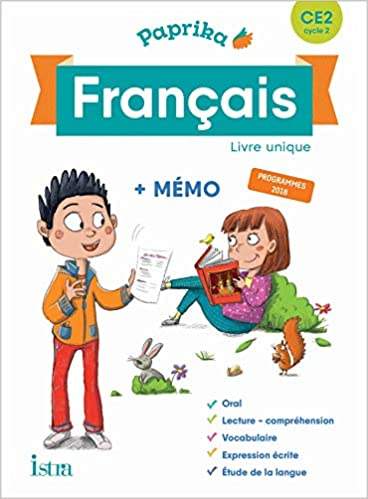 Amazon Fr Paprika Francais Ce2 Edition France Livre