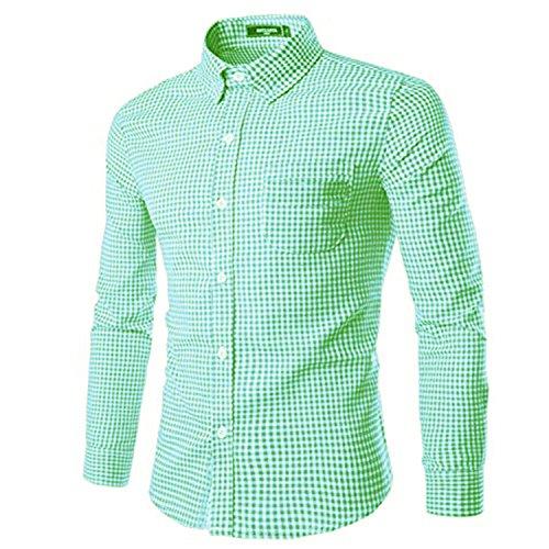 Plaid Button Down Shirt - 5