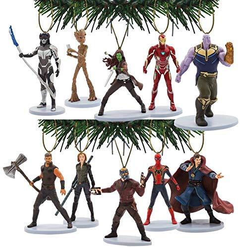 Characteristix Disney's Marvel Studios Avengers Infinity War Deluxe Ornament Set