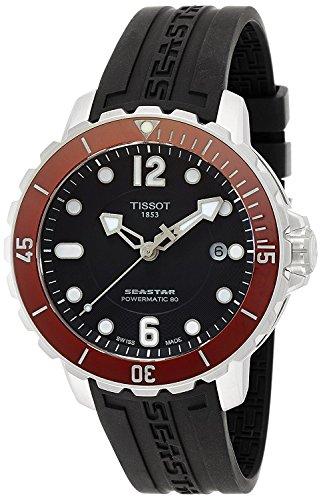 TISSOT watch SEASTAR 1000 Powermatic 80 T0664071705703 Men's [regular imported goods]