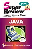 img - for Java Super Review w/ CD-ROM (Super Reviews Study Guides) book / textbook / text book