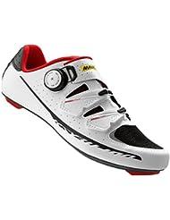 Mavic Ksyrium Pro II Shoes - Mens White/Black/Racing Red, 9.0