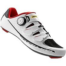 Mavic Ksyrium Pro II Shoes - Men's White/Black/Racing Red, 9.0
