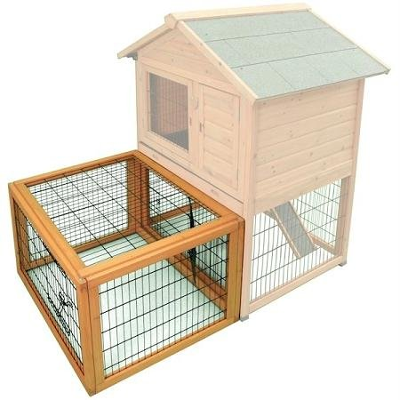 Ware Manufacturing Premium Plus Bunny and Rabbit Barn Yard Cage
