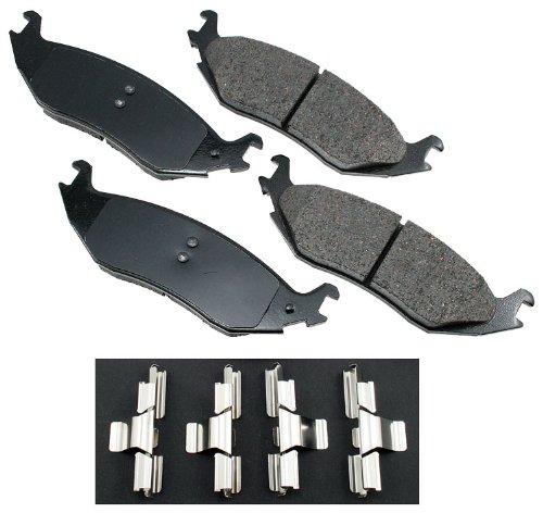 Akebono ACT898 ProACT Ultra-Premium Ceramic Brake Pad -