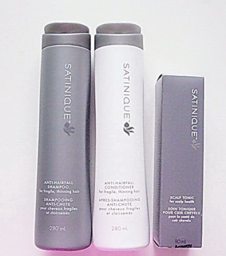 Anti-HAIRFALL Sets, Satinique Shampoo, Conditioner and Scalp Tonic