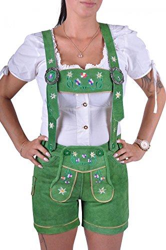 verde in donna da Almwerk Pantaloni pelle q1Hw6v