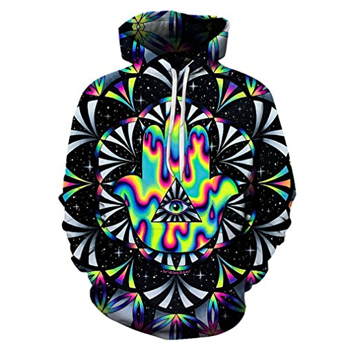 Trippy hamsa Printed 3d Hoodies Men Hoodie Autumn Sweatshirts Unisex Pullover Novelty Outwear Jackets Male Tracksuits Coat 6XL
