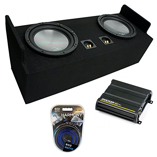 "1982-2004 GMC Sonoma Extended Cab Truck Harmony A122 Dual 12"" Sub Box & CX600.1"