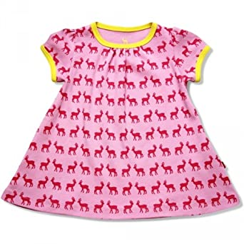 Hjorth Baby Kleid Hirsch Rosa Pink Grosse 56 62 Amazon De Bekleidung