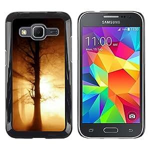 "For Samsung Galaxy Core Prime / SM-G360 , S-type Naturaleza Hermosa Forrest Verde 188"" - Arte & diseño plástico duro Fundas Cover Cubre Hard Case Cover"