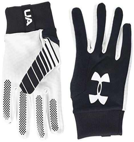 Under Armour Field Players 2.0 Glove, Black (001)/White, Medium