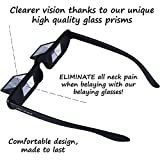 JNW Direct Belay Glasses, Improved Comfort, Keep