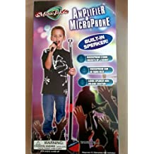Kids Authority Toy Microphone and Amplifier with Built In Speaker - Adjustalbe Height - Unisex Toy
