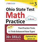 Ohio State Test Prep: 3rd Grade Math Practice Workbook and Full-length Online Assessments: OST Study Guide