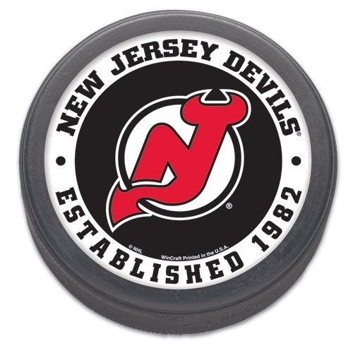 Wincraft NHL New Jersey Devils Hockey Puck
