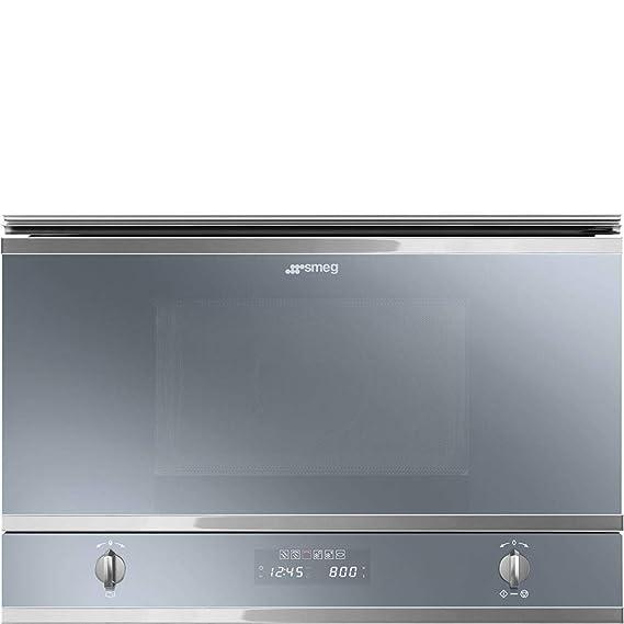Smeg MP422S - Microondas (Integrado, Microondas con grill, 22 L ...