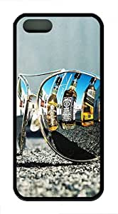 iPhone 5S Cases & Covers - Sunglasses 2 TPU Silicone iPhone 5S/5 Case Back Cover - Black