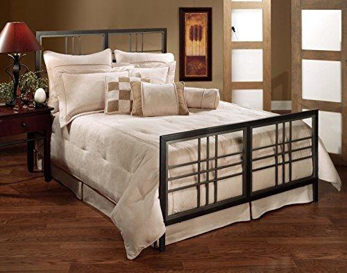 Tiburon Queen Bed - Hillsdale Furniture Tiburon Bed Set - King - Rails not included Magnesium Pewter
