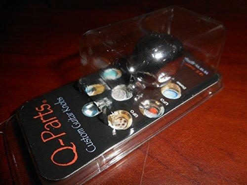 - Q Parts Skull Knobs Chrome Single