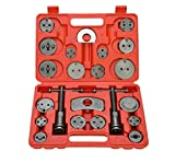 8milelake Brake Caliper Wind Back Tool 21pc professional disc brake caliper tool set