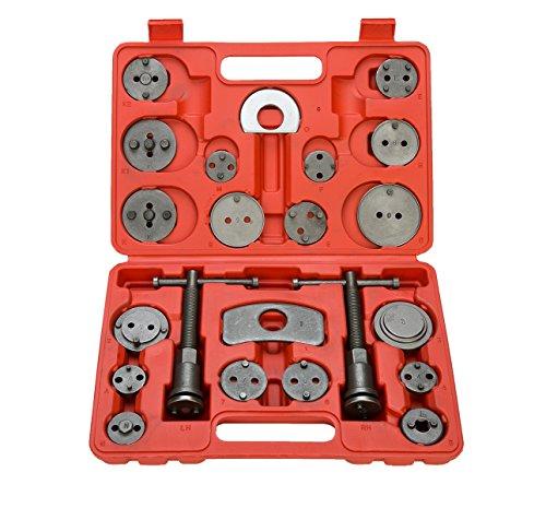 Brake Caliper Set (8milelake Brake Caliper Wind Back Tool 21pc professional disc brake caliper tool set)