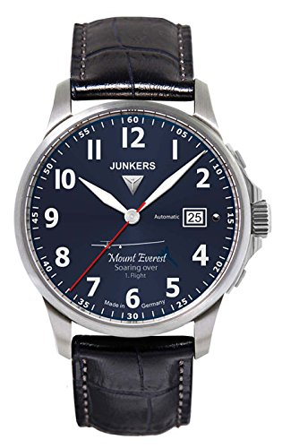 Junkers 6864-3 Mountian Wave Project Series Mens Automatic Watch