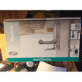 Hansgrohe Metris Lavatory Faucet Chrome Finish - - Amazon.com