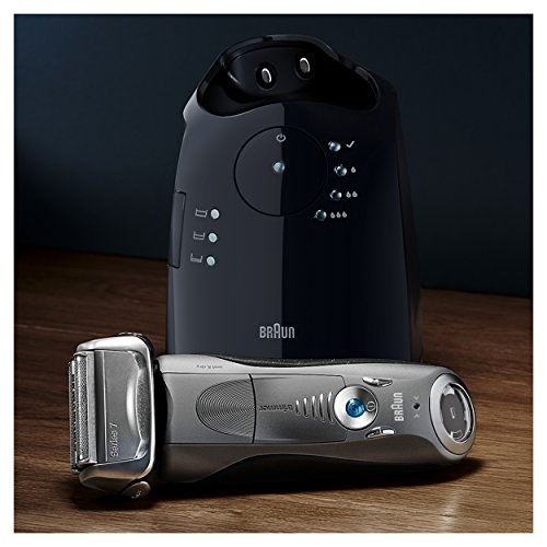 Braun Series 7 790cc Men's Electric Foil Shaver / Electric Razor, with Clean & Charge Station, Cordless by Braun (Image #3)