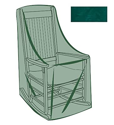 Plow & Hearth Outdoor Furniture All-Weather Cover - Green