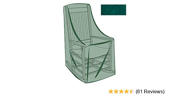 Amazon Com Rocking Chair Outdoor Furniture Cover In Green 26 3 4