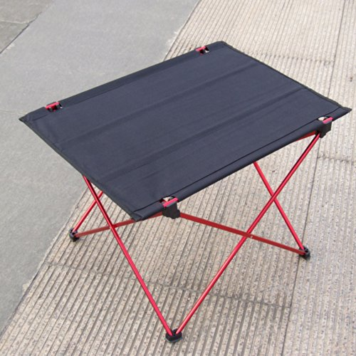 Ultra-light Aluminium Alloy Portable Foldable Folding Table Desk for Camping Outdoor Picnic by S.Team. Home > All Categories