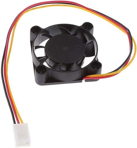SeaStart Ventilador silencioso de 12 V, 0,12 A, silencioso, 35 x ...