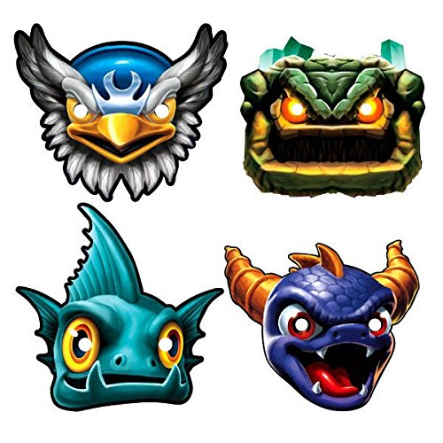 [American Greetings Skylanders Masks (8-Count)] (Gill Grunt Costumes)
