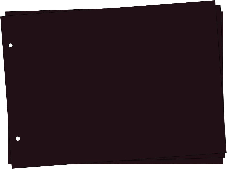 102 St/ück PISDEZ zus/ätzliche Fotoecken schwarz oder transparent