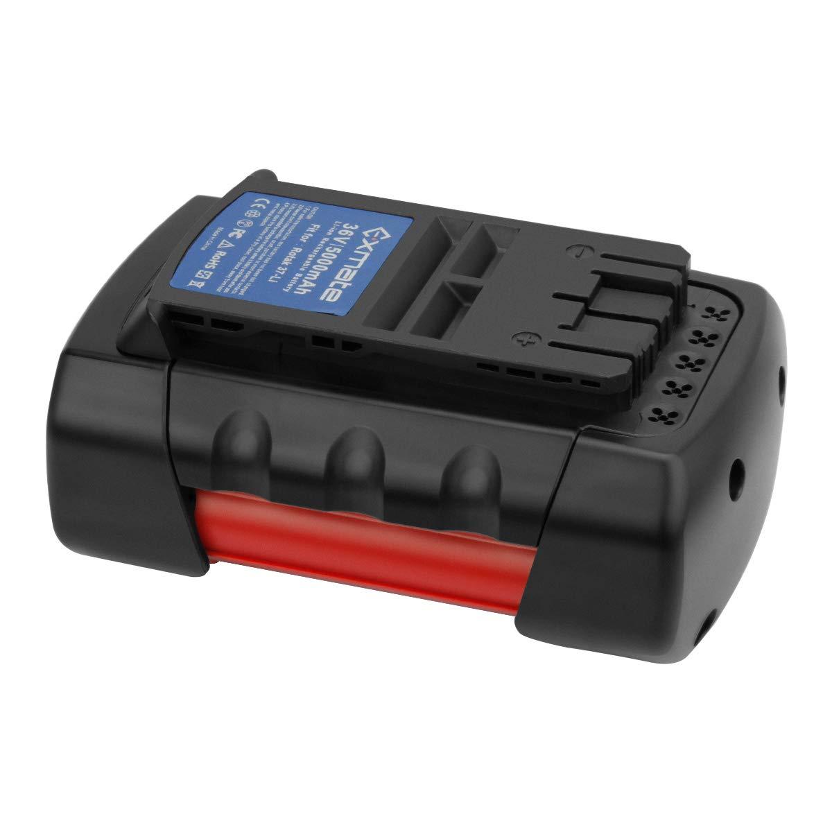 Exmate 36V Batería compatible con Bosch Rotak 32 LI, 34 LI, 37 LI ...