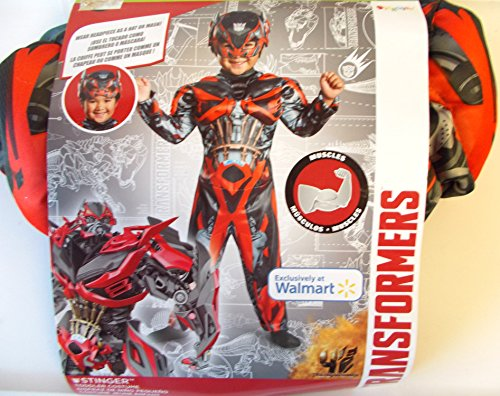 Transformers Movie 4 Stinger Toddler Muscle Dress Up Costume Size 2T (Transformers: Age Of Extinction Stinger Muscle Child Costume)